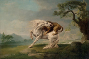 George Stubbs, A Lion Attacking a Horse, c. 1765....