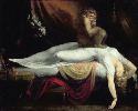 Heinrich Fuseli, The Nightmare, 1781. Oil on...
