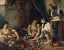 Eugène Delacroix, Women of Algiers, 1834. Oil on...