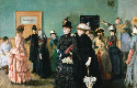 Christian Krohg, Albertine in the Police Doctor's...