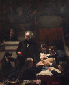 Thomas Eakins, The Gross Clinic, 1875. Oil on...