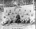The Cuban Giants, c. 1899. COURTESY NATIONAL...