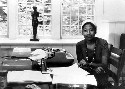 Writer Alice Walker at the MacDowell Colony,...