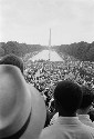 The March on Washington: a crowd of African...