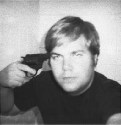 John Hinckley in a self-photograph in Washington,...
