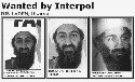 Photos of suspected terrorist Osama bin Laden...