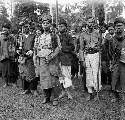 Minangkabau chiefs in a photo taken ca. 1910-30....