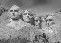 Mount Rushmore National Monument in Keystone,...