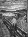 The Scream (1893), by Edvard Munch (1863–1944)....