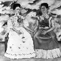 The Two Fridas (1939), by Frida Kahlo...