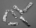 These foil wrappers were used for doses of...