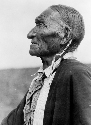A Cheyenne peyote leader around 1927. Native...