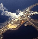 Pulp mills are often located adjacent to water...