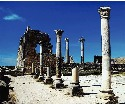 The Roman ruins of Volubilis in Morocco are one...