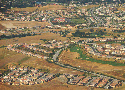 Aerial view of Silicon Valley in Northern...