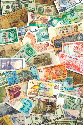 A collection of various currencies from countries...