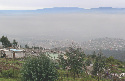 Early-morning smog over Quito, Ecuador, June...