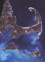 Landsat 7 image of Cape Cod, Massachusetts; data...