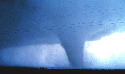 The first tornado captured by the NSSL Doppler...