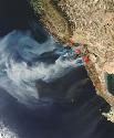 NASA satellites capture remarkable images of the...