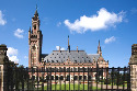 The Peace Palace, also known as Vredespalais, in...