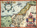 Ortelius's Map of Palestine and the Holy...