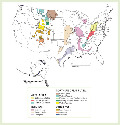 Coal supply regions of the United...