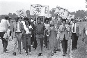A protest march on October 21, 1982, in Warren...