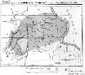 Map showing Nez Perce Indian reservations and the...