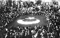 Turks celebrate in October 1922 following their...