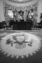 The Oval Office, photographed in January 1993,...