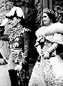Their Majesties King George V and Queen Elizabeth...