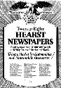 An advertisement for Hearst papers, 1922....