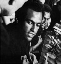 Huey P. Newton, cofounder of the Black Panther...