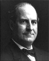 Populist William Jennings Bryan came very close...