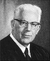The liberal Supreme Court Justice Earl Warren...