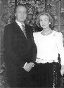 King Juan Carlos and Queen Sofia of Spain...