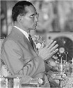 King Bhumibol of Thailand has little direct...