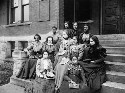 Fisk University students. The junior normal class...