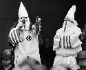Ku Klux Klan rally. The Grand Dragon of the...