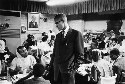 Malcolm X. Black Nationalist and Muslim leader...