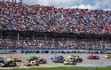 The photo shows the NASCAR Sprint Cup race held...