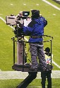 Televising an NFL game in San Francisco in 2009....