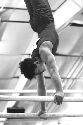 In gymnastics, skills on the apparatus, such as...