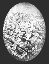 1860 Aerial Photograph of Boston by...