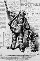 A political cartoon of Tammany Hall Boss Tweed by...