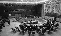 A meeting of the United Nations Security Council...