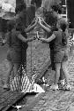 Visitors to the Vietnam Veterans Memorial in...