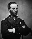 Portrait of Gen. William Tecumseh Sherman in 1865...