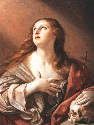 The Penitent Magdalene by Guido Reni, c. 1635....